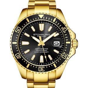 Stuhrling Depthmaster Pro Diver Sports Watch